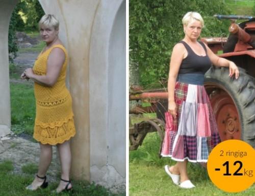 Vilja: Lihtne kaalulangetamine – 40+23 päevaga 12kg läinud!