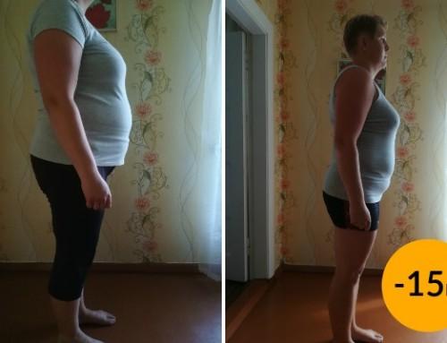 Reelika: Füsioterapeut soovitas! Kaotasin 15kg, seljavalud vähenesid